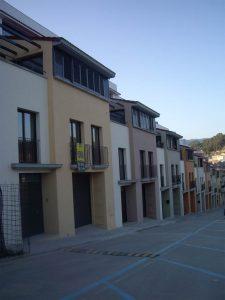 Construcción de Casas unifamiliares adosadas